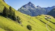 Austria, Vorarlberg, Lechtal ...