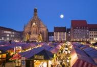 Germany, Nuremberg, view to C...