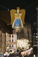 Germany, Nuremberg, angel fig...