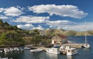 Croatia, Rava Island, viwe to...