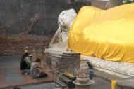 Buddha Statue, Wat Yai Chai M...