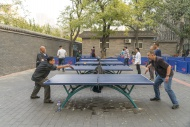 Table tennis, Ritan Park, Bei...