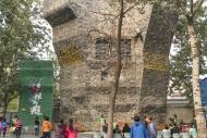 Climbing wall, Ritan Park, Be...