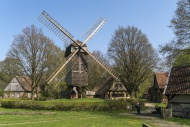 Bockwindmühle, Windmill, Frei...