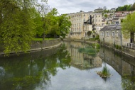 The River Avon and Abbey Mill...