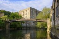 The Mckeever Bridge over the ...
