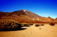Volcano Teide with Los Roques...