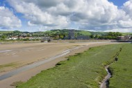 The Taw Estuary and the town ...