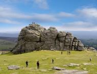 UK, Haytor Vale, Haytor Rocks...