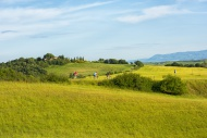 Italy, Tuscany, Val d\'Orcia,...