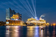Germany, Hamburg, christening...