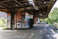 Abandoned S-Bahn station Siem...