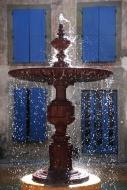 Village fountain, Siran, Mine...