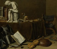 Vanitas Still Life with the S...