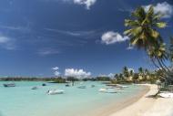 Beach, Grand Baie, Mauritius,...