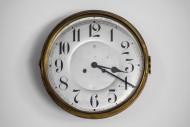 Vintage circular wall clock f...