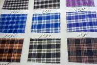 Page in old textile sample bo...