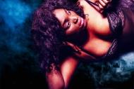 Portrait of a black woman in ...