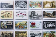 Collection of vintage postcar...