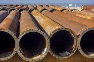 Pipeline tubes for sand reple...