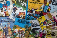 Collection of colourful cover...