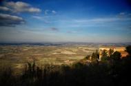 Panorama view over tuscany, I...