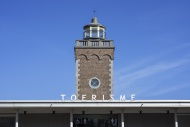 Lighthouse and tourist office...