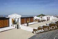 Karma Beach lounge bar at sea...