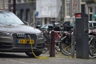 Elektroautos, Amsterdam, Nied...