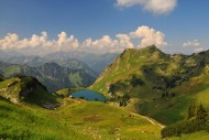 Seealpsee above the Oytal at ...