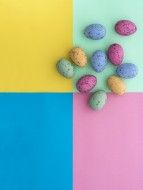 Mini speckled easter eggs fro...