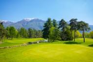 Hole 8 in Golf Club Ascona wi...