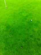 Golf Ball with Backspin and D...