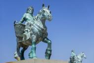 Cloned Paardenvissers, bronze...