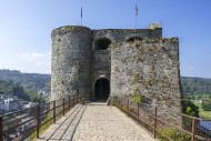 Entrance gate of the medieval...