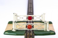 Toy level crossing gates. Mec...