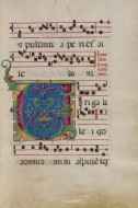 Decorated Initial V, Unknown,...