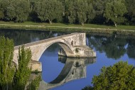Reflection of the Pont Saint-...