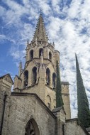 Belltower of the 14th-century...