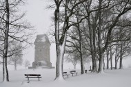 Bismarck tower at Augsburg in...