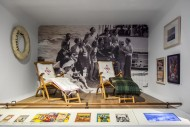 Old deck chairs / deckchairs ...