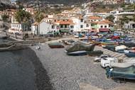 Beach, bay and fishing port i...