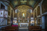 Interior of the chapel of Nos...