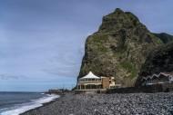 Beach of Sao Vicente, Madeira...