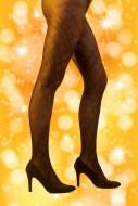 Legs of a woman in elegant ti...