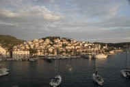 Town and harbor, Hvar, Croatia