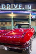 1965 red Chevrolet Corvette S...
