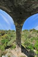 Ponte a Zaglia over the river...