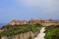 View from east on Bonifacio, ...