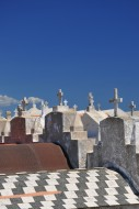 Tombs in the cemetery of Boni...